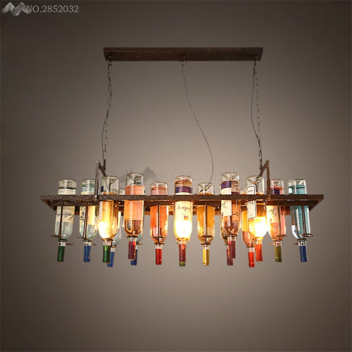 Retro Wine Bottle Lamps