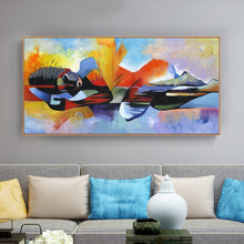 Load image into Gallery viewer, Divine Abstract Oil Painting
