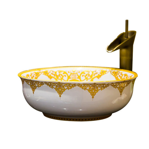 European Art Wash Basin