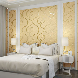 3D Wallpaper Swirled Lines