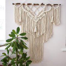 Load image into Gallery viewer, Hand Woven Tapestry Macrame Wall Hanging