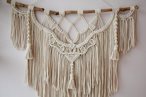 Hand Woven Tapestry Macrame Wall Hanging