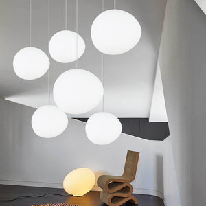 Ovular Globe Pendant Lights