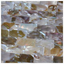 Load image into Gallery viewer, Mother of Pearl  Colorful Shell Mosaic Wall Tile
