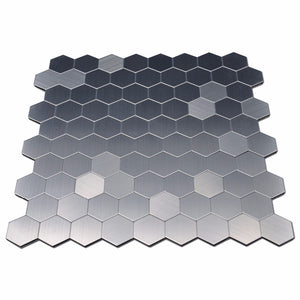 Hexagon Metal Mosaic Tiles