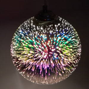 Stained Glass Pendant Lamp