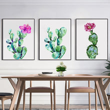 Load image into Gallery viewer, Cactus Canvas Painting