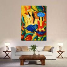 Load image into Gallery viewer, Picasso Hand Painted Canvas Oil Painting