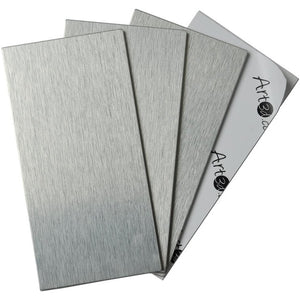 Brushed Aluminum Wall Tile