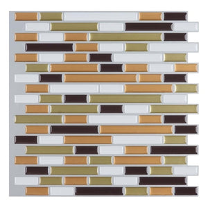 3D Brick Mosaic Wall Tile
