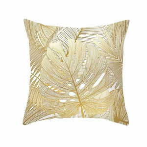 Soft Leaves Pillow Case