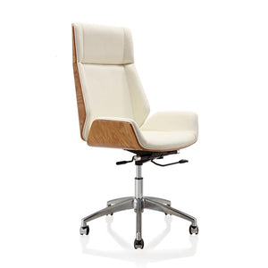 Bentwood Swivel Office Chair