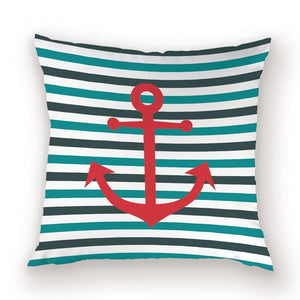 Marine Anchor Pillow Cases