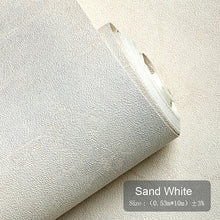 Load image into Gallery viewer, 3D Rustic Plain Cement PVC Wall Paper Rolls