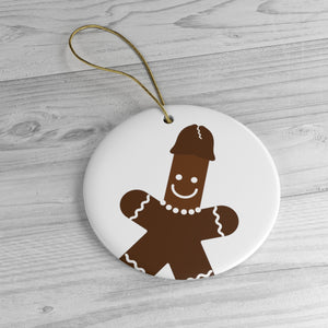 """Gingerdick Man"" Tree Ornament"