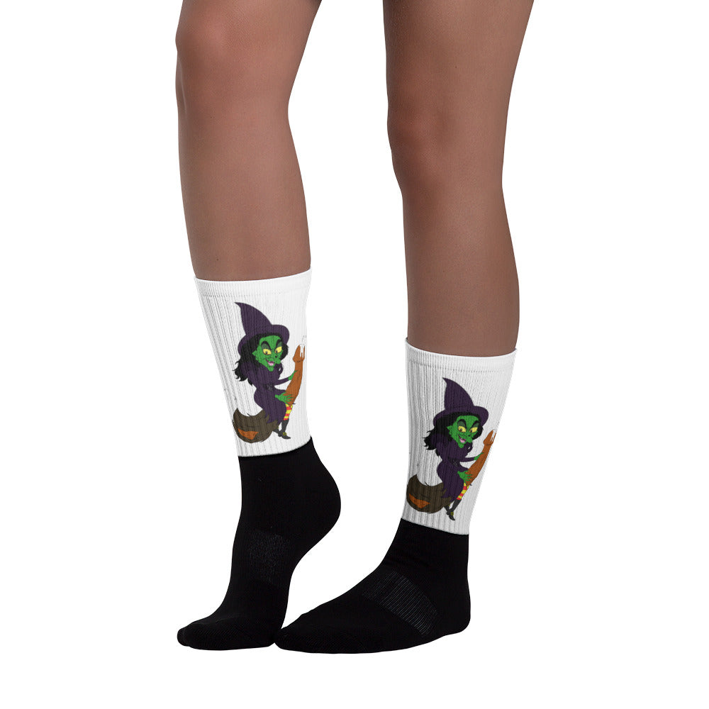 """Wicked Dick of the West"" Crew Socks"
