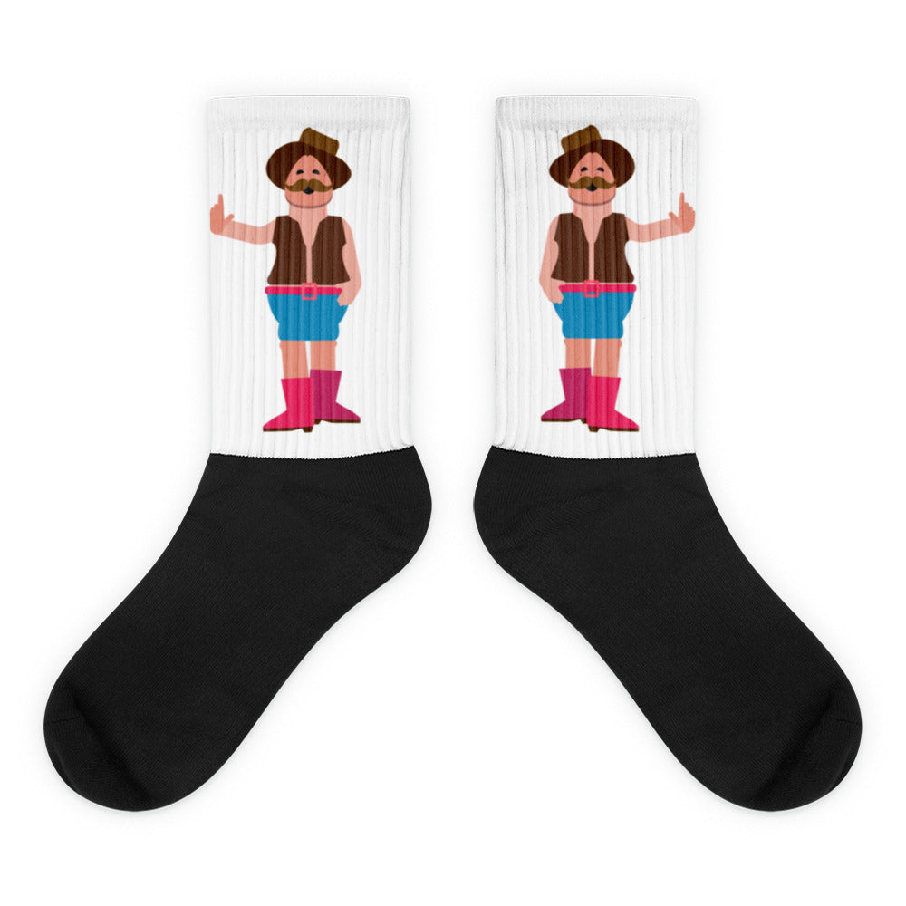 """Clint Northwood"" Crew Socks"