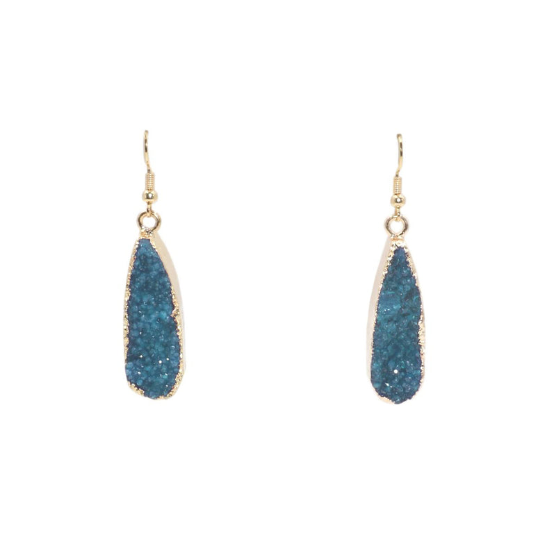 Kinsley Armelle Denim Drop Earrings - Gift Shop Wrought 'n Apples