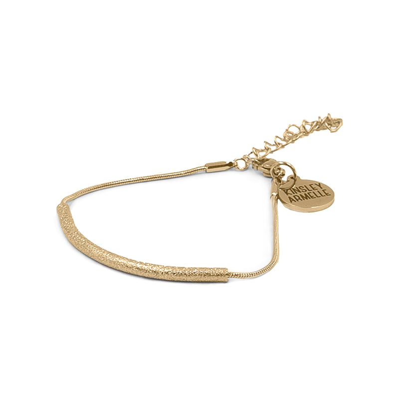 Kinsley Armelle Rhea Gold Bracelet - Gift Shop Wrought 'n Apples