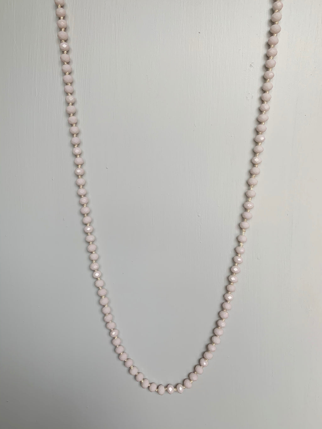 Pink Beaded Necklace - Gift Shop Wrought 'n Apples