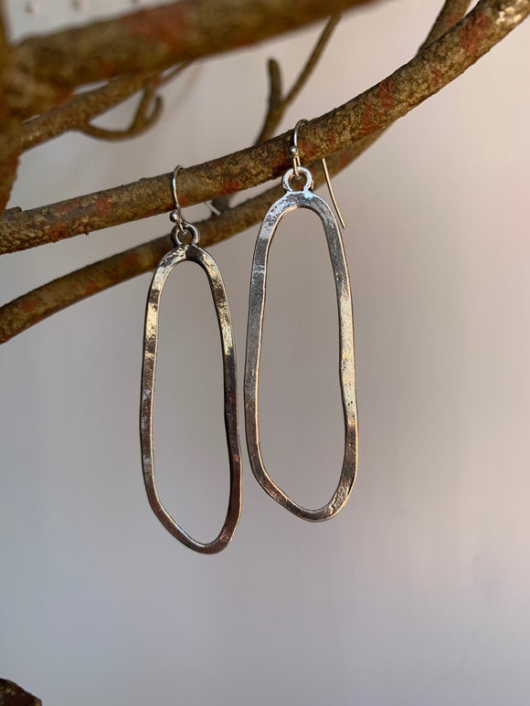 Silver Earrings - Gift Shop Wrought 'n Apples