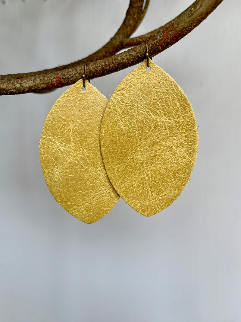 Leather Lightweight Earrings - Gift Shop Wrought 'n Apples