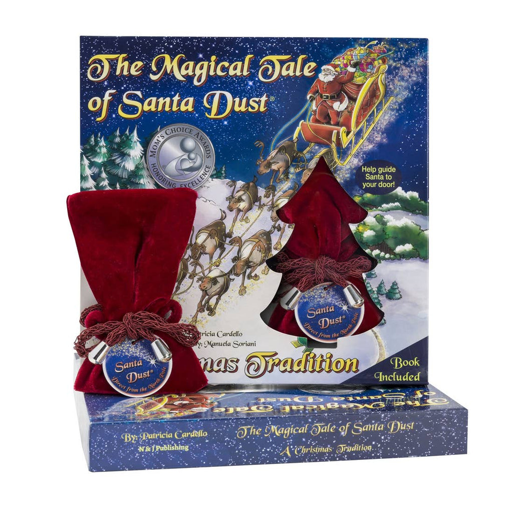 The Magical Tale of Christmas Book and Santa Dust - Gift Shop Wrought 'n Apples