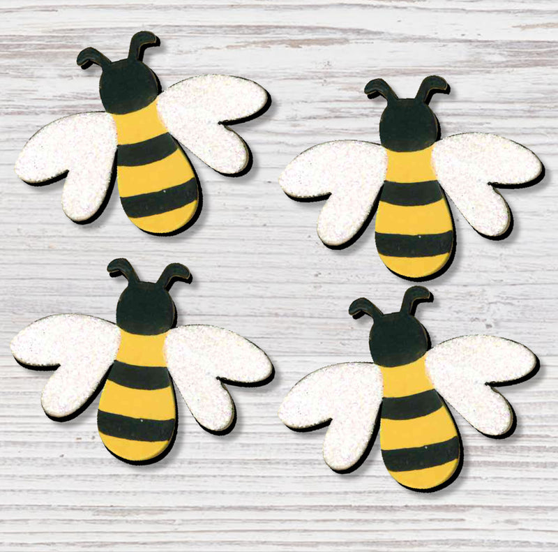 Bee Magnet Set - Gift Shop Wrought 'n Apples