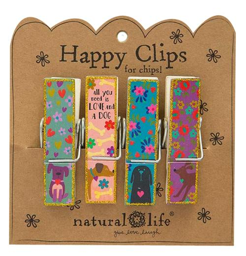 Happy Clip Dog - Gift Shop Wrought 'n Apples