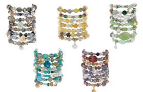 Stax Assorted Bracelets - Gift Shop Wrought 'n Apples