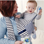 Mommy and Me Activity Scarf Blue - Gift Shop Wrought 'n Apples