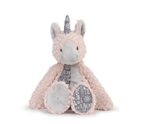 Plush Unicorn - Explore, Dream, You Are So Loved - Gift Shop Wrought 'n Apples