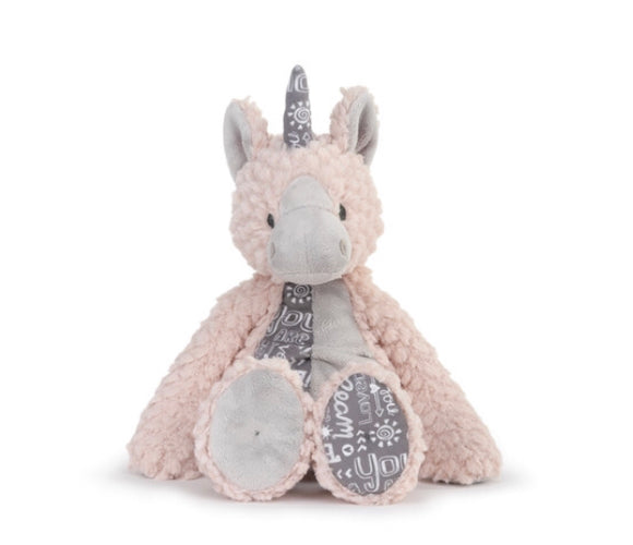 Plush Unicorn - Explore, Dream, You Are So Loved