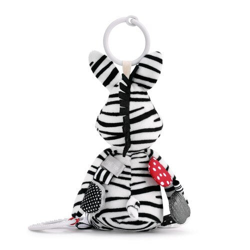 Activity Teether Zebra - Gift Shop Wrought 'n Apples