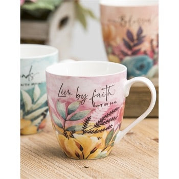 Inspirational mug 17 oz - Gift Shop Wrought 'n Apples