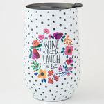 Wine Tumbler Natural Life- 4 styles - Gift Shop Wrought 'n Apples