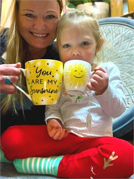 You are my Sunshine mug set - Gift Shop Wrought 'n Apples