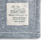 Moments Together Family Size Blanket - Gift Shop Wrought 'n Apples