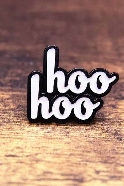 Courtney Miller from Smosh's Hoo Hoo Enamel Pin