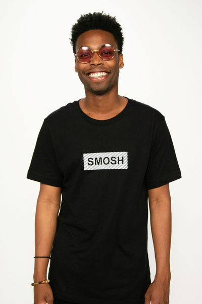 Keith from Smosh wearing short-sleeve Box Logo Tee