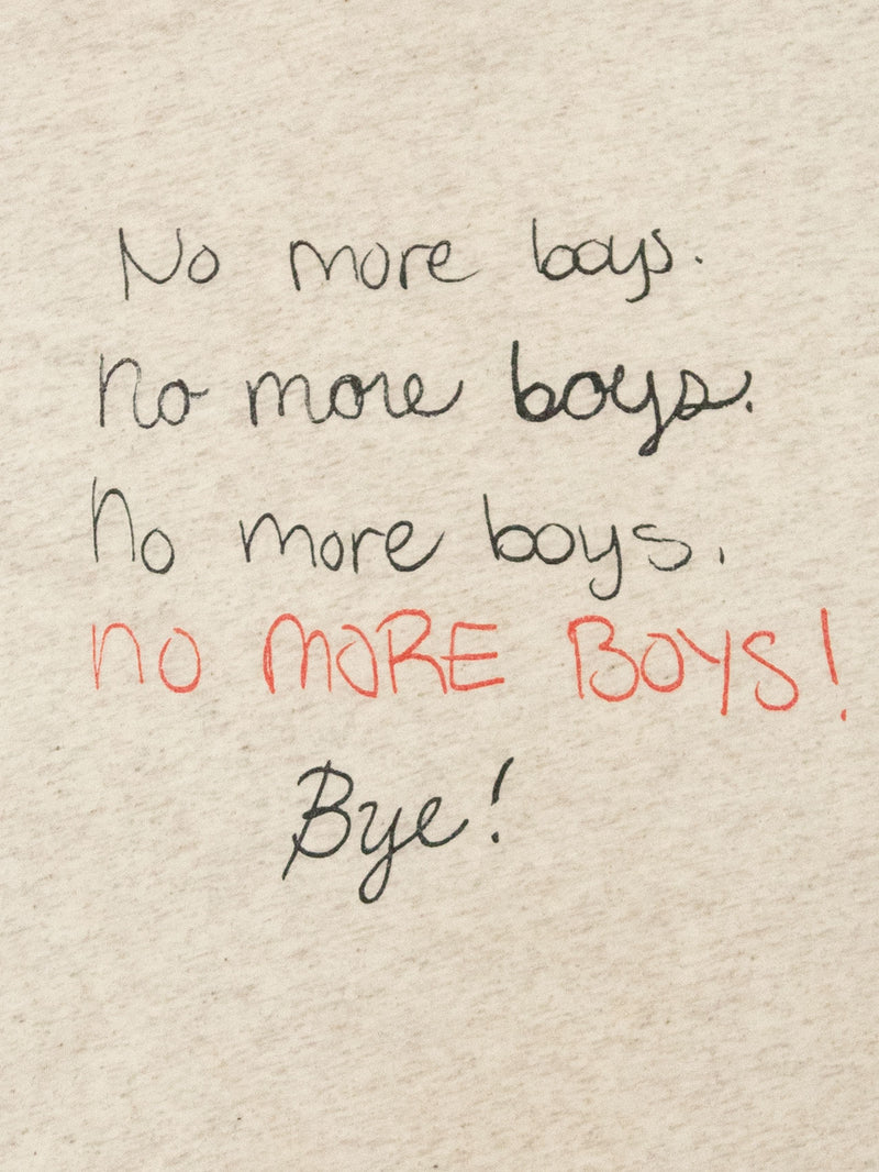 No More Boys Tee