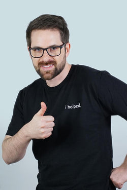 i helped. T-Shirt