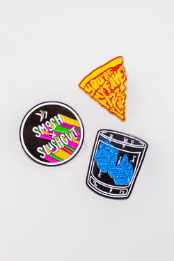 Smosh x SlushCult Pin Set