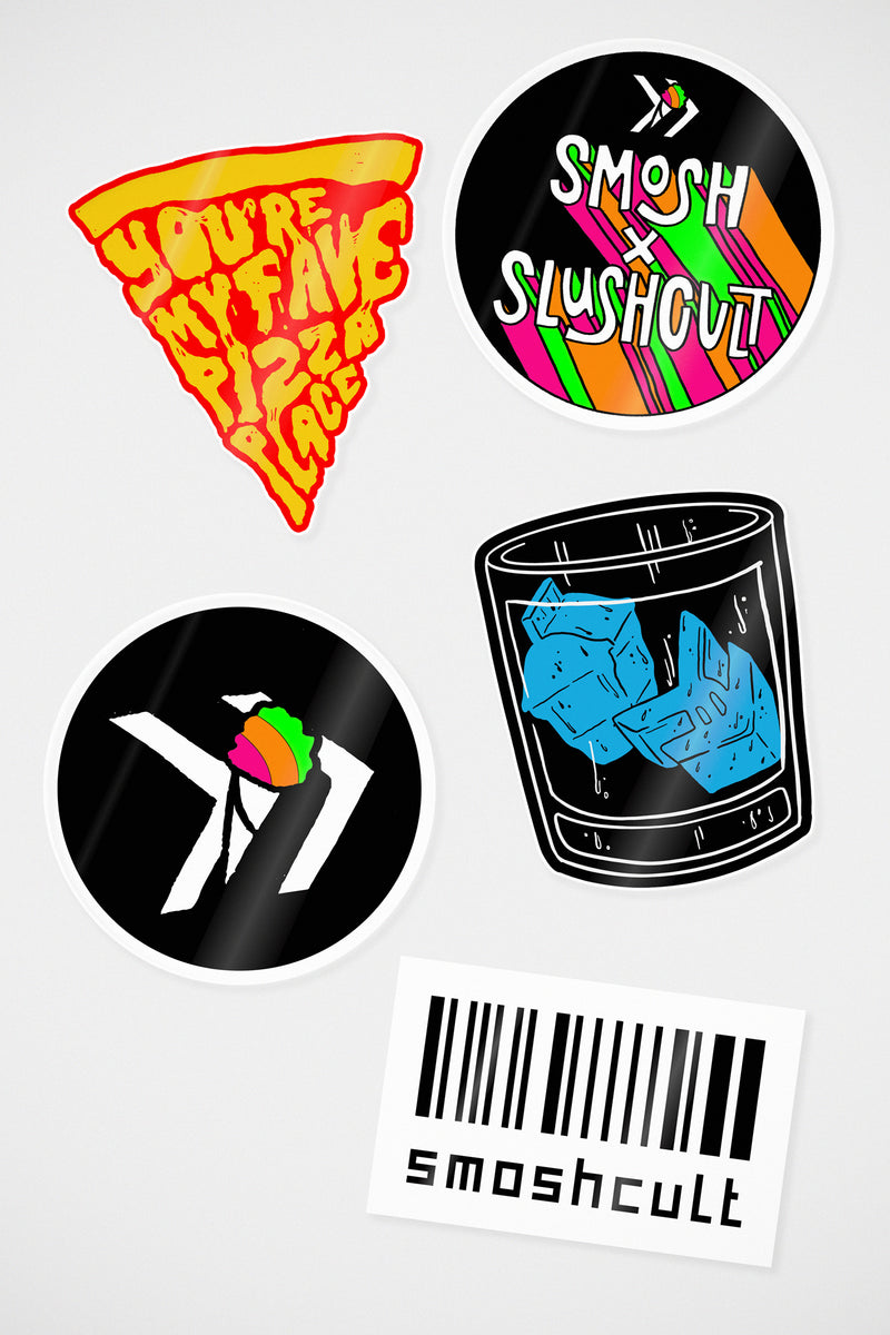Smosh x SlushCult Sticker Pack
