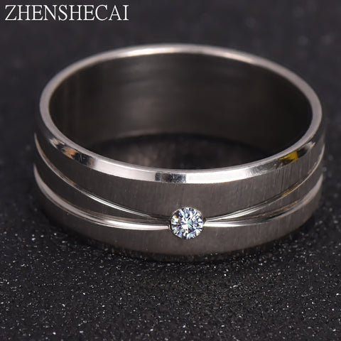Smooth Simple Wedding Couples Rings