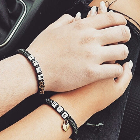 2pcs/1 Set Couples Bracelet
