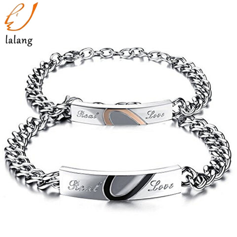 Stainless Steel Couple Bracelet