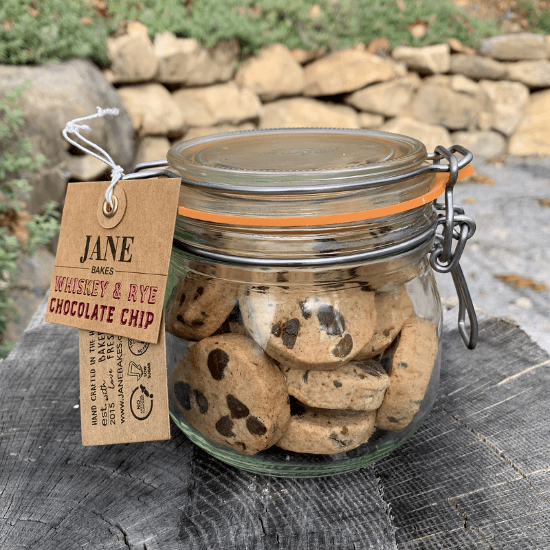 Whiskey & Rye Chocolate Chip Cookie Jar