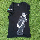 OGD Pigpen Women's T-shirt in Black
