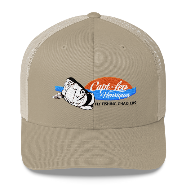 Capt. Leo Fly Fishing Guide Trucker Cap